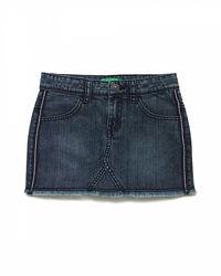 Юбка джинс Benetton р.130-160