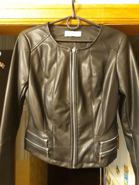 Куртка кожаная кожзам Reserved р. 38