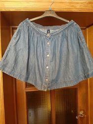 Джинсовая юбка GapKids XL или 12