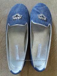 Туфельки D&G джинсові