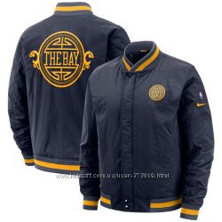 Мужская куртка Nike Golden State Warriors City Edition Bomber Jacket бомбер