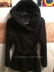 Черное пальто Amisu New Yorker