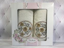 Красивые наборы полотенец 2 в 1 лицо баня