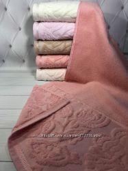 Велюровые полотенца ТМ Durul упаковки по 6 штук