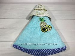 Круглые махровые полотенца для кухни размер 70 см