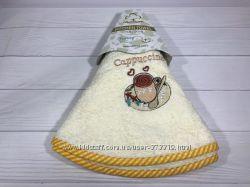 Махровые кухонные полотенца 70 см