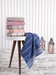 Полотенца махровые упаковки лицо баня по 6 шт