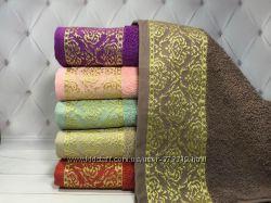 Махровые полотенца упаковки по 6 шт
