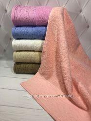 Махровые полотенца ТМ Sweet Dream упаковки по 6 шт
