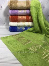 Турецкие махровые полотенца упаковки по 6 шт