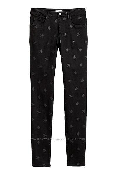 Черные брюки H&M 36-38