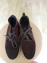 Ботинки Becool Испания 40 размер натуральная замша коричневые