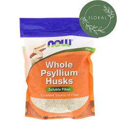 Now Foods, Цельная оболочка семян подорожника,454 г