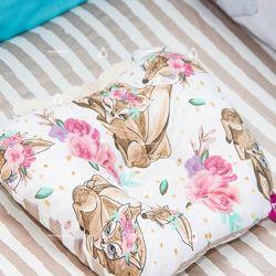 Ортопедическая подушка для новорожденного lukoshkino