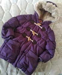 Тёплая курточка на рост 92 см