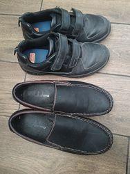 Мокасины ботинки 22.5 см