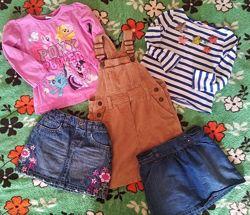 Пакет вещей для девочки 3-4 года