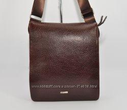 Кожаная мужская сумка Desisan 1310-019 коричневая
