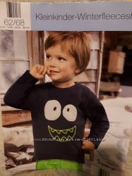 Немецкие флисовые свитера Impidimpi для мальчиков и девочек р. 62-68, 74-80