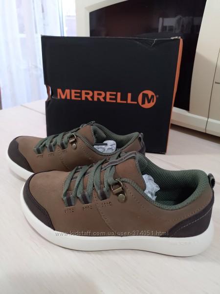 Новые американские водоотталкивающие кроссовки Merrell р. 30 оригинал