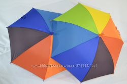 Радужный детский зонтик, зонт радуга для маленьких на 2-6 лет