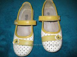 Кожаные туфельки для красотки