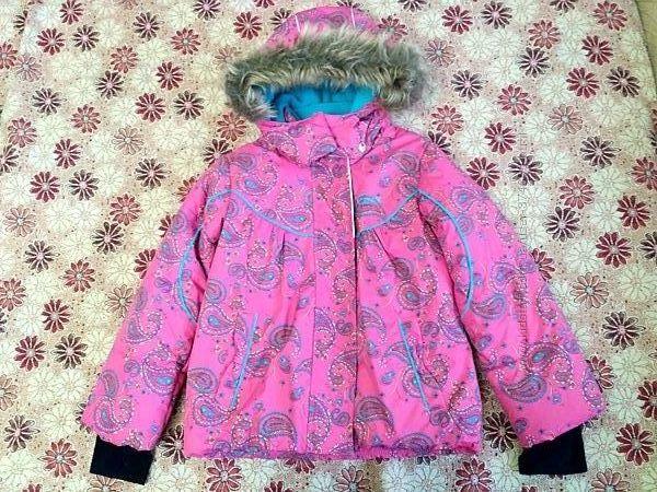 Куртка  Gusti 122см зима на дівчинку 6років оригінал Канада нова
