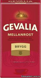 Кофе молотый Gevalia Brygg 450 гр
