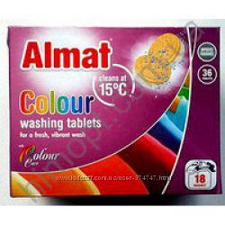 Таблетки для стирки ALMAT COLOR 18ст. 36шт