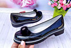 Туфли р-р 33-38 черные фирма tom. m