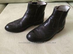 Осенние детские кожаные ботинки на мальчикаBartek