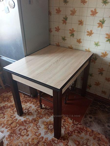 Кухонный раскладной стол 90х70см Марсель