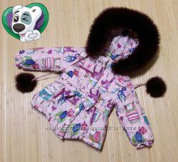 зимние, деми---- пальто для девочки