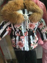 зимние костюмы, пальто, курточки