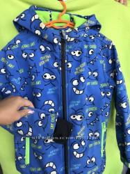 Демисезонная курточка на флисе Coolclub 116-128.