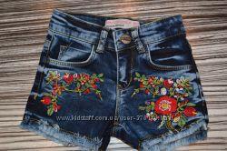 Модные джинсовые шортики BREEZE GIRLS
