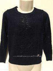 Нарядный свитерок со стразами