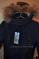 Теплое зимнее пальто со снежной юбкой до -25