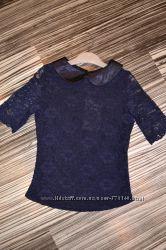 Нарядная гипюровая блузка