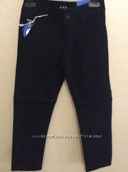 Стильные брюки синего цвета