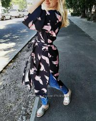 Платье-тренч размер oversize