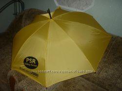 Яркий очень качественный зонт-трость из Германии