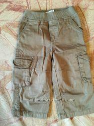 Плотные котоновые штаны на мальчика, размер 18 мес. The childrens Place USA