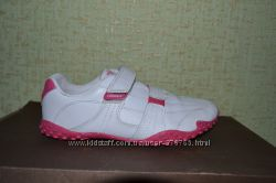 Фирменные кожаные кроссовки Lonsdale London оригинал. Размер 34