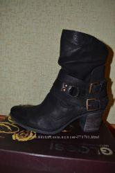 Стильные итальянские кожаные ботинки MJUS Мьюс. Размер 37-38.