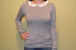 Шикарный свитер Atmosphere с расшитым воротником. Размер 8 S 36