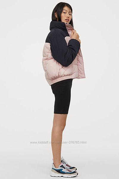 Куртка-пуховик H&M из новой коллекции Достаточно тёплая. Размер S