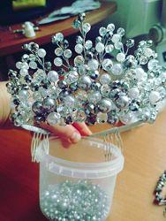 Корона для невесты, диадема.