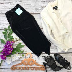 Нарядная юбка миди ассиметричного покроя  KI2418