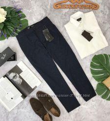 Синие брюки для базового гардероба мужчины Zara  PN180414